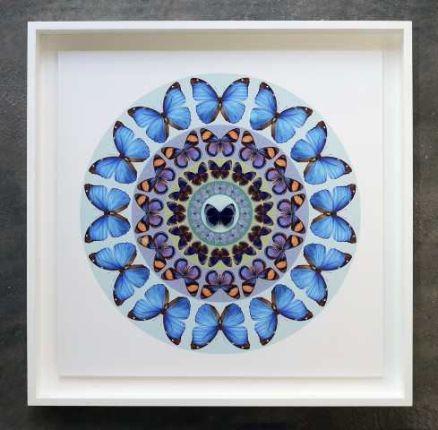 Iain Cadby, Target Mandala (Glacier Blue) *SOLD*, 2020