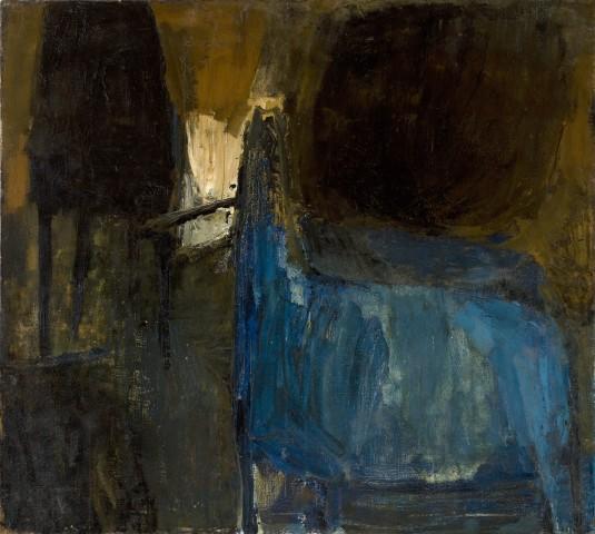 Blue Horse & Black Form