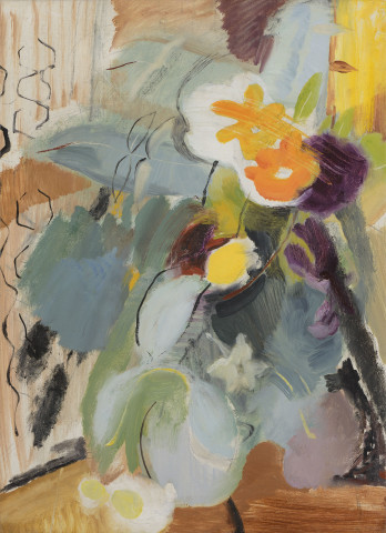 Ivon Hitchens, September Flowers , c. 1935