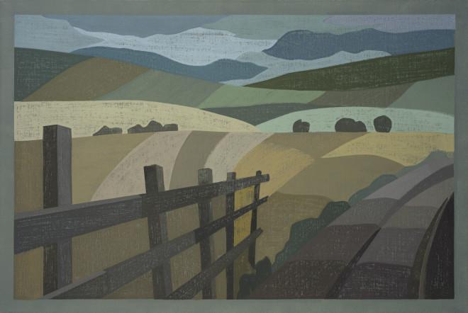Richard Pelling, Distant Landscape
