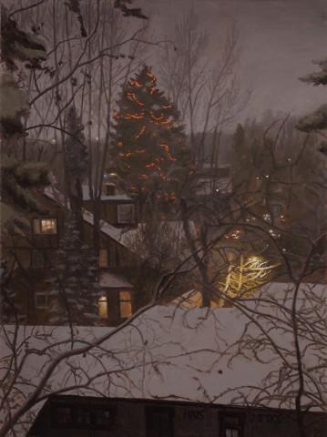 Harry Steen, Christmas Lights down Hill