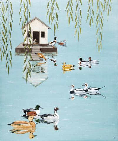 Rebecca Campbell, A Paddling of Ducks