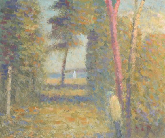 Nicholas Turner, Figure on a Path to the Sea