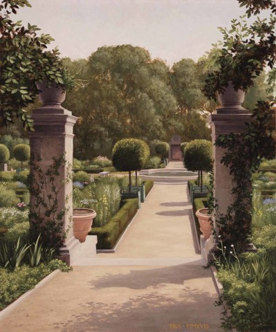 Harry Steen, Garden, Bryn Mawr