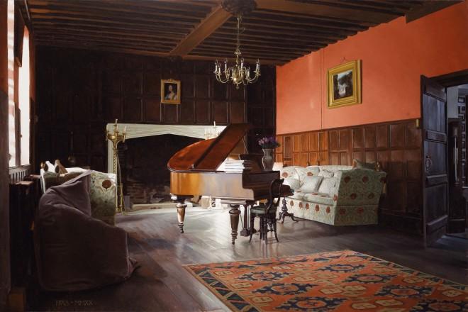 Harry Steen, Rainthorpe - Piano in Hall
