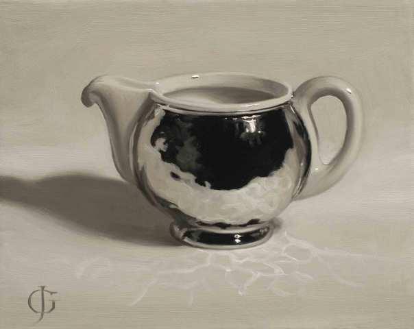 James Gillick, Steel & Ceramic Milk Jug