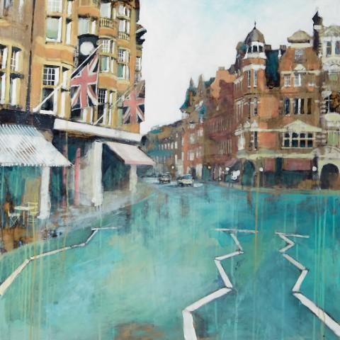Camilla Dowse, Sloane Square II, London