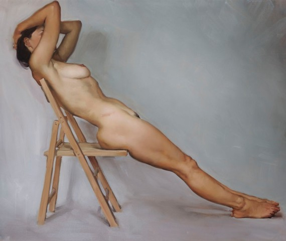 Michael J Austin, Reclining Nude