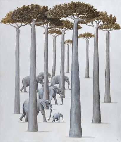 Rebecca Campbell, A Parade of Elephants