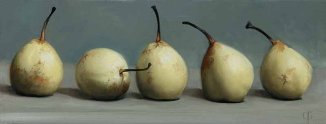 James Gillick, Five Chinese Pears