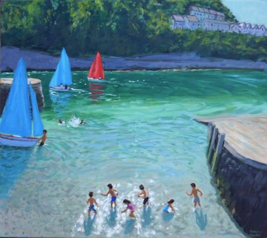 Andrew Macara, Skimming Stones, Looe, Cornwall