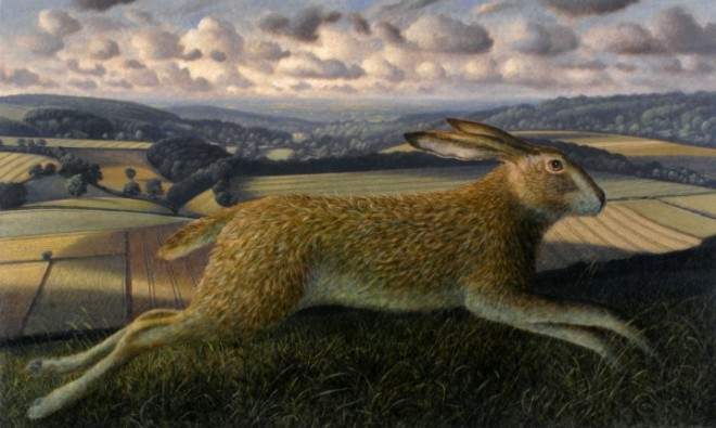 Leaping Hare, Rodmead Farm, Wiltshire