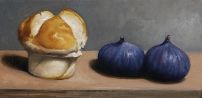 James Gillick, Two Figs & a Bun, 2015