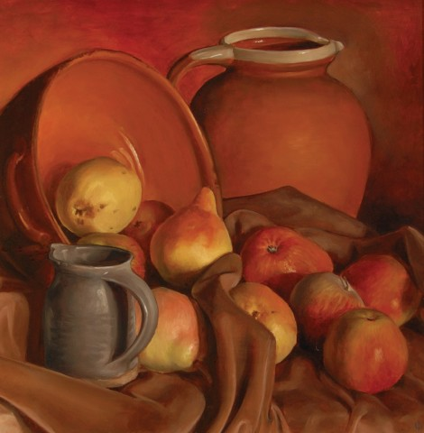 James Gillick, Red Still Life, 1996