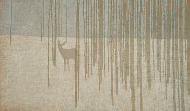 David Grossmann, In the Scattered Winter Trunks