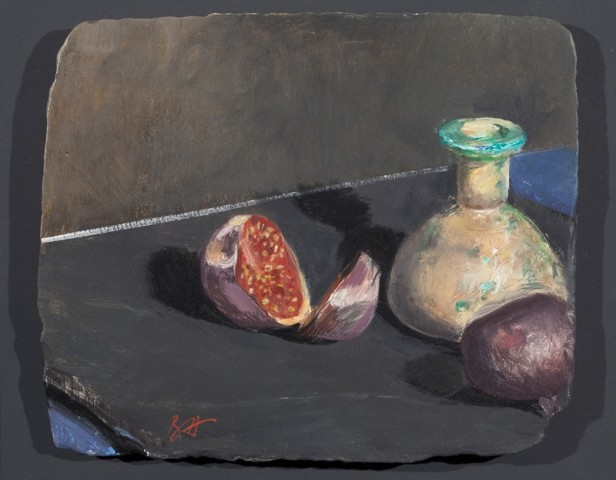 Ben Henriques, Figs and an Egyptian Vase