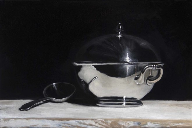 James Gillick, Silver Tureen & Spoon