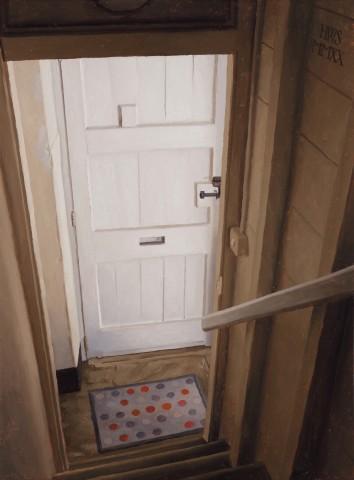 Harry Steen, House in Wales - Tack Room Door