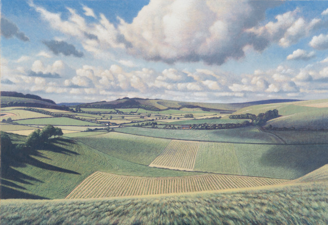 James Lynch, Cloud Suck, Mere, Wiltshire - A Parallel Reality