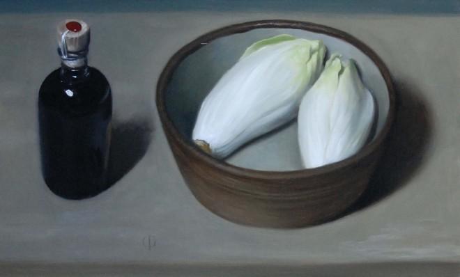 James Gillick, Chicory, Truffle and Balsamic Vinegar
