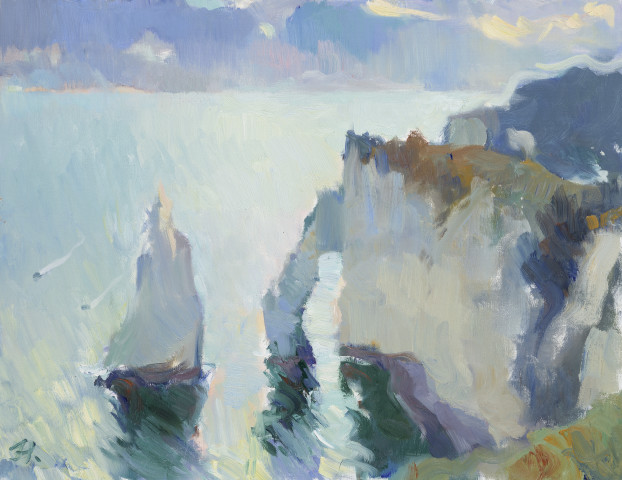 Julia Hawkins, Sunrise at Étretat