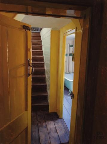 Harry Steen, Rainthorpe - Stairs by Bathroom