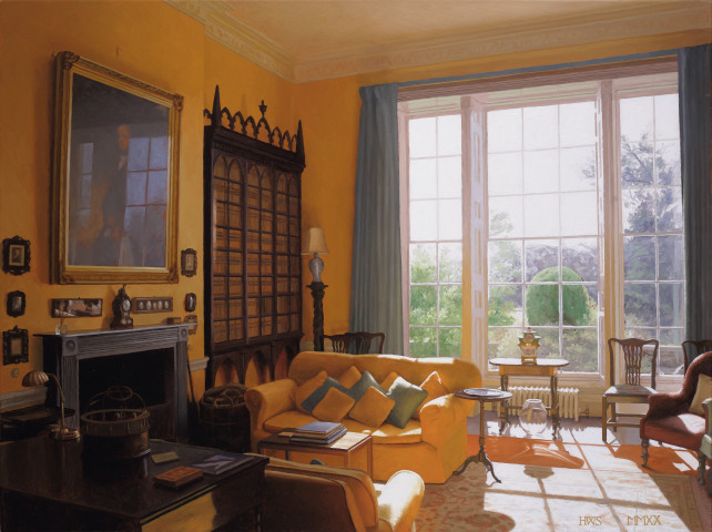 Harry Steen, House in Wales - Library