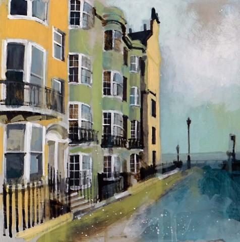 Camilla Dowse, New Steine, Brighton (Study)