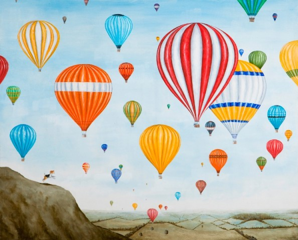 Rebecca Campbell, Hot Air Rises
