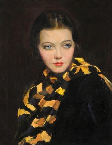 Portrait of Syliva Sidney