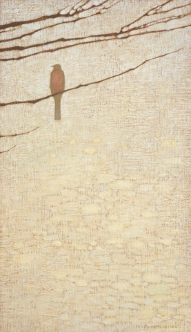 Robin and Bare Branches