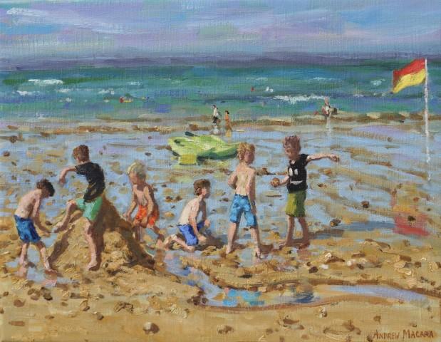 Andrew Macara, The sandcastle, Wells-next-the-sea