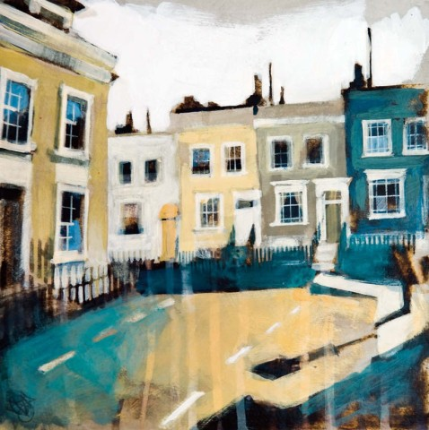 Camilla Dowse, Farmer Street & Hillgate Place, Kensington, London (Study)