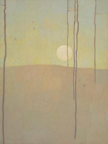 David Grossmann, Forest Patterns with Moon
