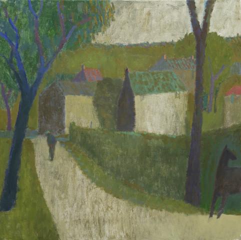 Nicholas Turner, Lane with Horse