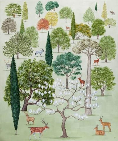 Rebecca Campbell, Arboretum