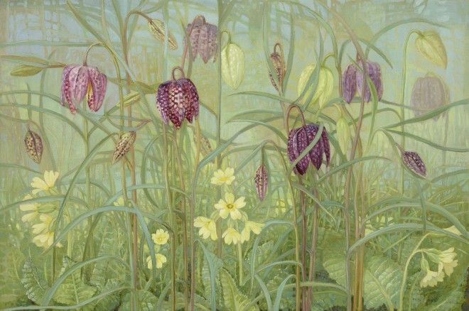 Jane Wormell, Fritillaries and Primulas