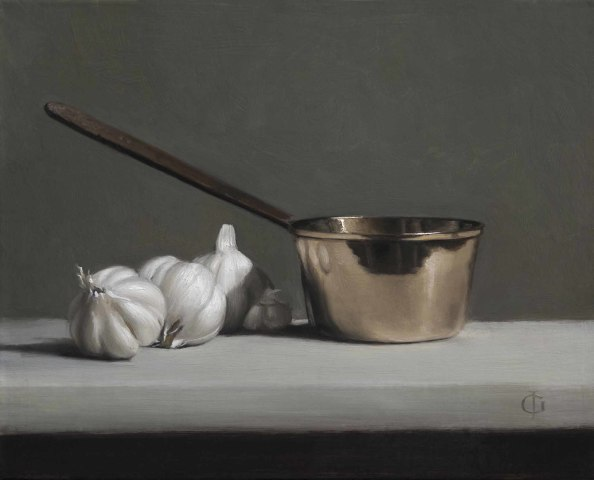 James Gillick, Garlic & Brass Pan