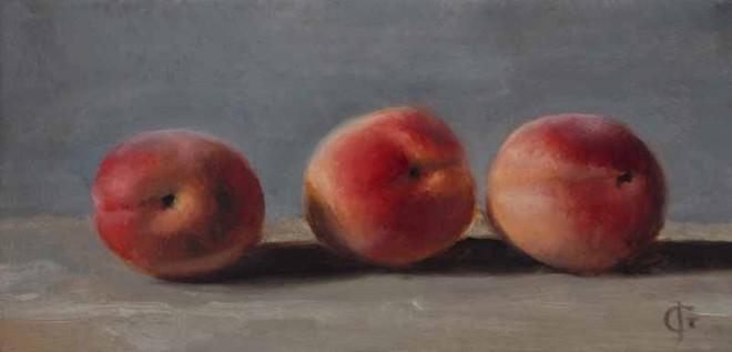 James Gillick, Three Soft Nectarines