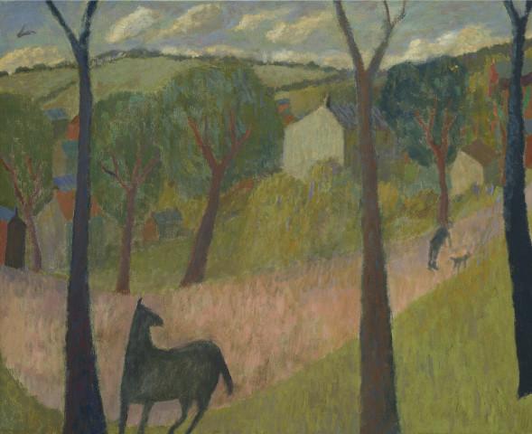 Nicholas Turner, Horse on a Path