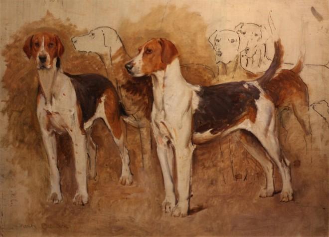 Frank Calderon, Hound Study