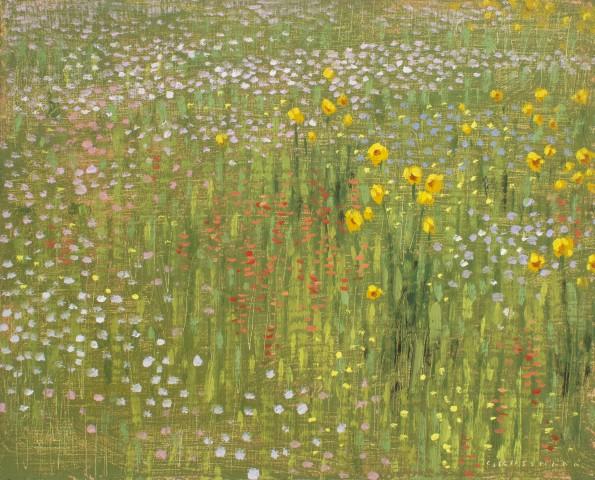 David Grossmann, Mountain Wildflowers I