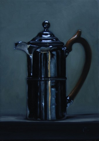 James Gillick, Silver Coffee Pot, 2015