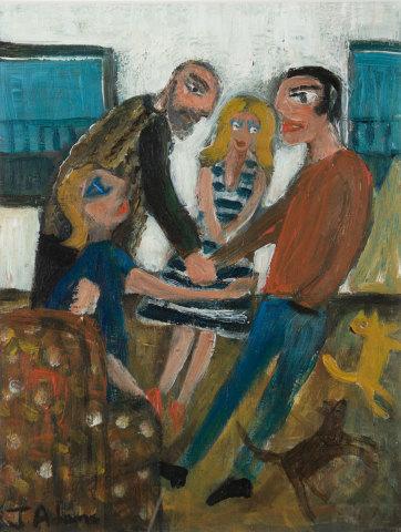 James Newton Adams, Meet the Parents