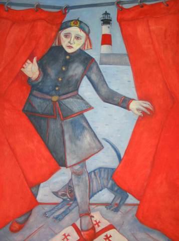 Joyce W Cairns, Through the Red Curtain