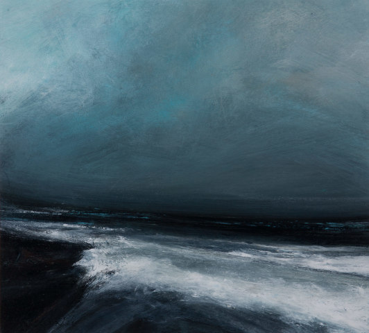 Ruth Brownlee, North Easterly Gales off Toswick