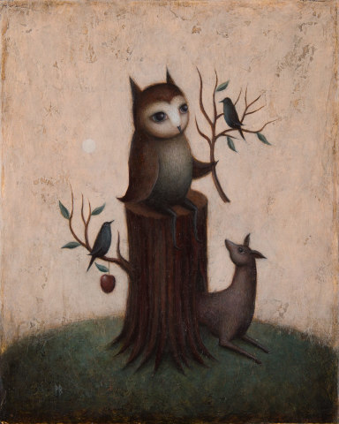 Paul Barnes, The Order of the Owl, 2019