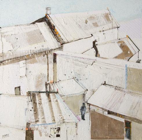Robert McAulay, White Roofs v, 2019