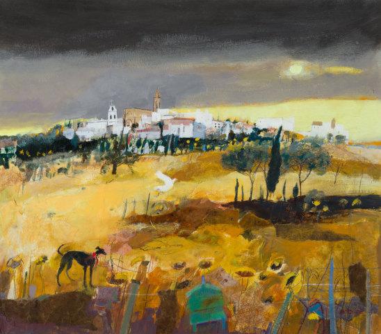 Christine Woodside RSW RGI, White Town, Andalucia