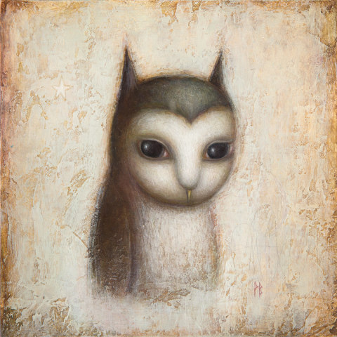 Paul Barnes, Portrait of an Owl